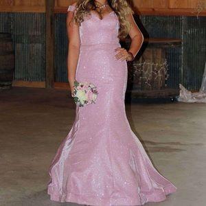 Pink Dress - Rachel Allan